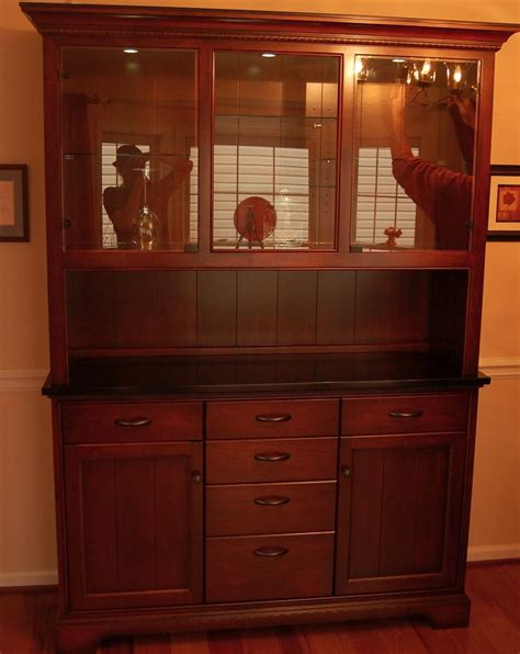 handmade dining room cabinet by sjk woodcraft design