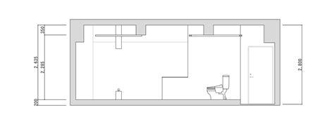 section of a room room 211 hotel t point mifune design studio archdaily