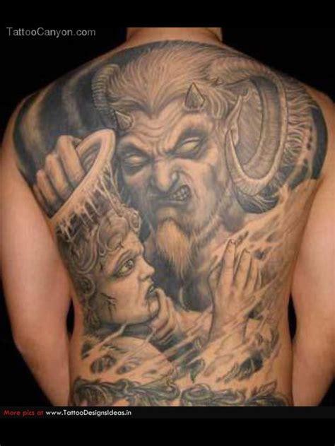 tattoo designs good and evil 8 best crazy evil tattoo stencils images on pinterest