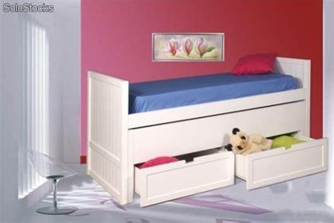 cama nido doble  cajones barato