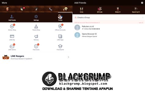 download tema line inwepo terbaru download tema anime untuk line terbaru gratis blackgrump