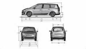Renault Grand Scenic Length Renault Grand Scenic Dimensions Grand Renault Sc 233 Nic