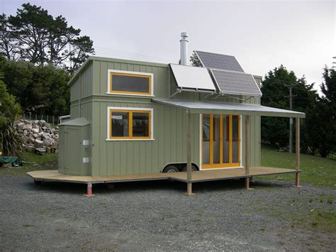 small self sustaining homes this high spec tiny house is an grid home
