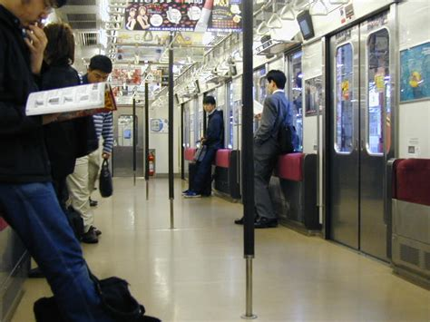 The Standing Room by Yamanote Line Penguin S Japan Guide