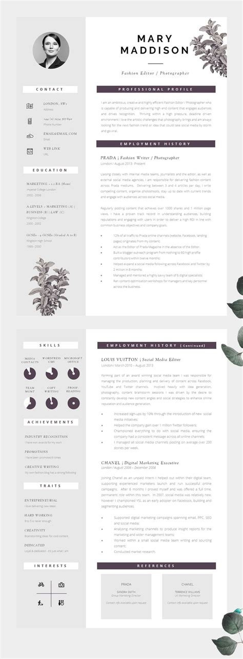 Resume For Graphic Designer by Best 25 Graphic Designer Resume Ideas On