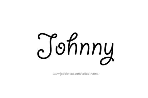 johnny tattoo alphabet johnny name tattoo designs