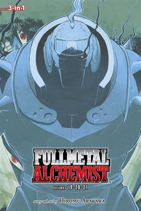 Poster One 06 1 fullmetal alchemist 3 in 1 edition vol 7 book by