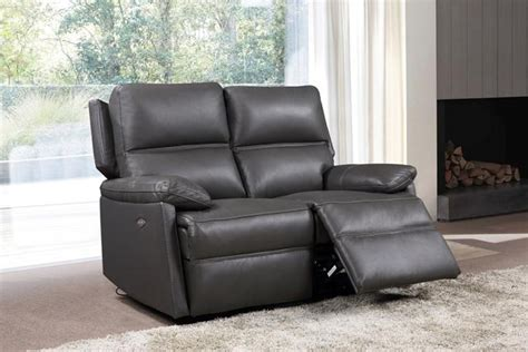 buy furniture link bailey grey 2 seater recliner electric