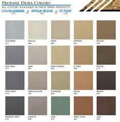 butterfield color chart 1000 images about concrete color hardener color charts on