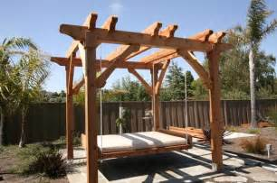 Pergola Bed by Pergola And Swing Bed