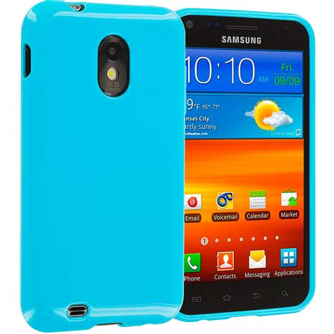 Paket 2 In 1 Matte Baby Skin Softcase Back Cover Casing Silicon baby blue tpu plain skin for samsung sprint galaxy s2 epic touch 4g phone ebay
