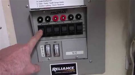 wiring a reliance transfer switch wiring diagram gw micro