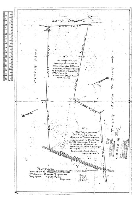 Property Survey Records Maryland Maryland State Archives Caroline County Circuit Court Land Survey Subdivision And