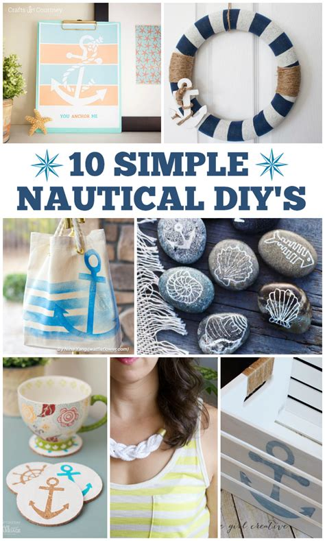 nautical diy crafts 10 simple nautical diy s and marriage