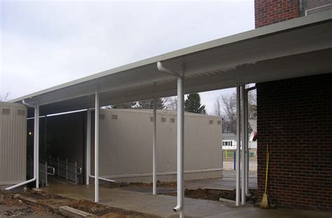 pike awning metal awning commercial signage portland pike awning