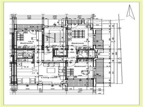 floor plans architecture residential architectural floor plan modern residential