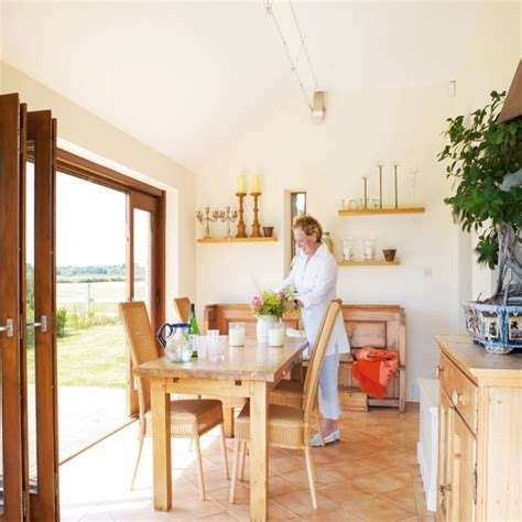 Dining Room Converted To Kitchen Dining Room Modern Barn Conversion House Tour Ideal