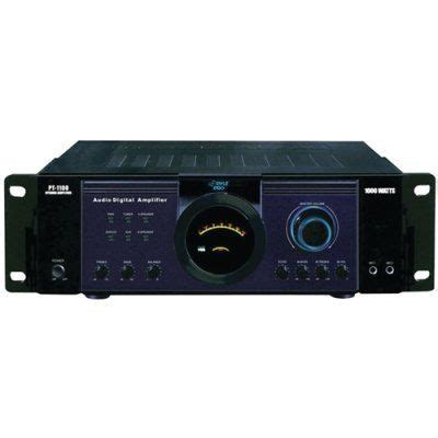 pyle pt home theater power amplifier amp  remote