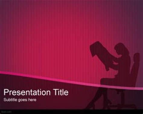 ppt templates for entrepreneurship executive woman powerpoint template ppt template