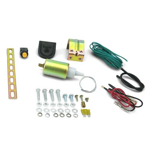 Door Popper Solenoid by Autoloc 11 Lbs Door Solenoid Pop Handle Latch Popper Kit
