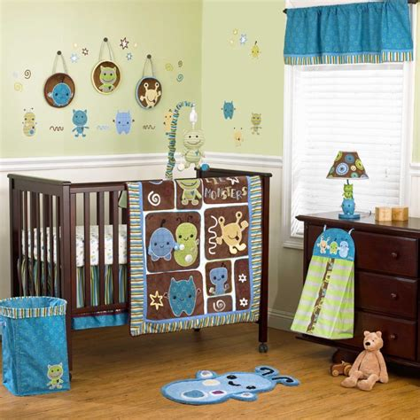 unique crib bedding for boys derektime design