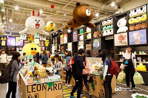 line store line friends store cafe garosugil sinsa south korea