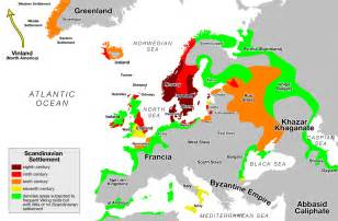 us maps go raids countries that were raided or settled by the vikings based
