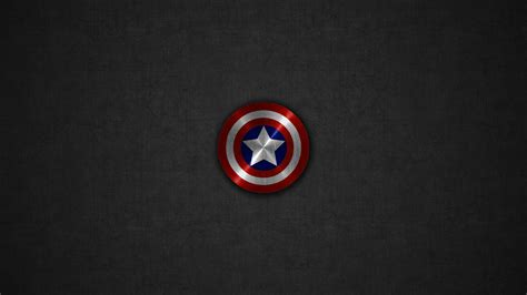 captain america logo wallpaper hd captain america shield gray linen background desktop wallpaper