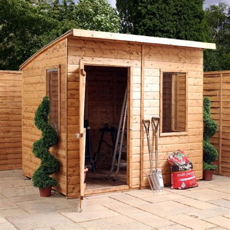 Shiplap Roof by Mercia Shiplap Curved Roof Aero Shed 6 X 8 Elbec Garden