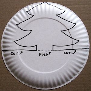 paper plate template paper plate pop up tree