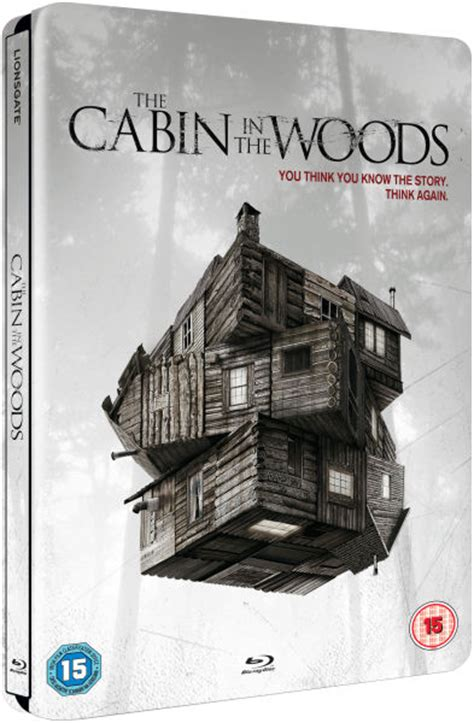 Cabin In The Woods Book by Nuevo Steelbook The Cabin In The Woods
