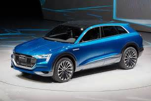 Audi Electric Vehicle 2018 Audi Q6 Electric Suv To Be Built In Belgium From 2018