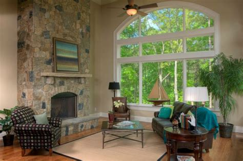 Wide Windows Decorating How To Decorate A Living Room With Large Windows