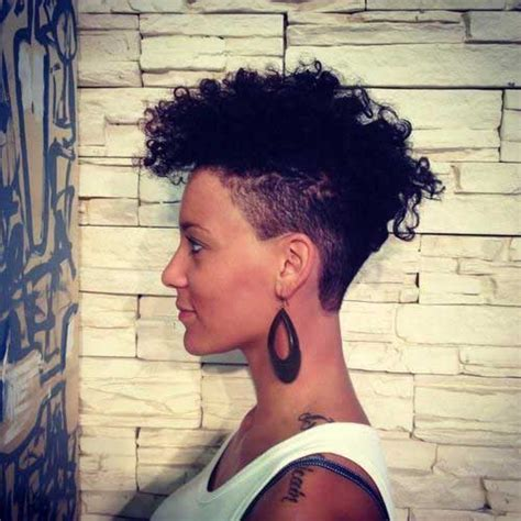 curly hairstyles undercut 15 new short curly haircuts for black women short