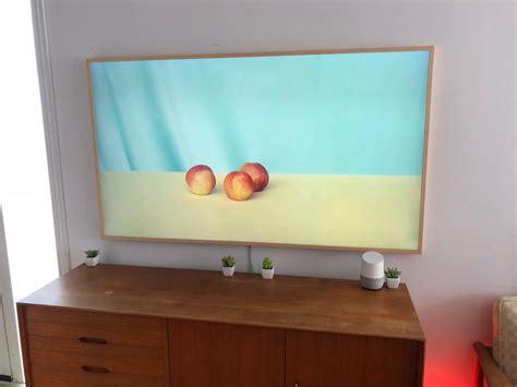 samsung frame tv review  tv art mode