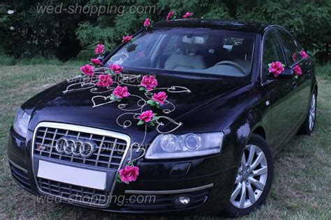 kit decoration voiture mariage 1000 ideas about wedding car decorations on