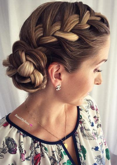 cute braided hairstyles going into a bun for black people 70 cute french braid hairstyles when you want to try