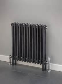 Multi Coloured Kitchen Accessories - cheshire radiators kingsley 2 column horizontal steel radiator in colour cast iron radiators