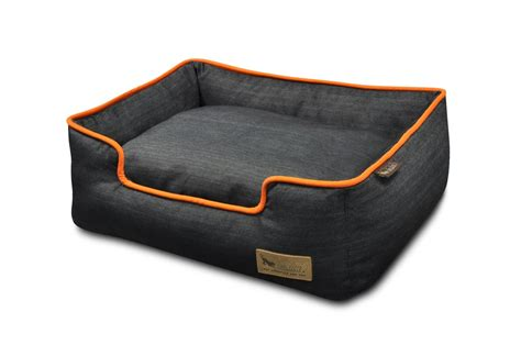 denim dog bed p l a y lounger dog bed urban denim luxury dog beds