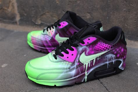 Nike Air Max Unique Shape custom nike air max 90 pink abstract style shoes sneaker