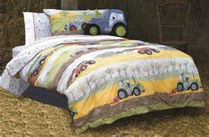 Tractor Bedding Sets Uk Boys Farm Yard Quot Field Days Quot Tractor Bedding Duvet
