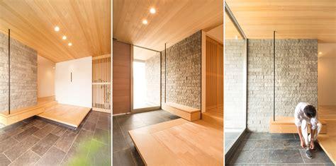 Japanese Foyer by Residential Design Inspiration Modern Genkan Studio Mm