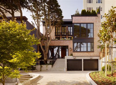 outstanding apartment in russian hill san francisco russian hill residence contemporary exterior san