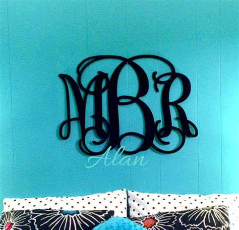 monogram letters home decor popular painted wall letters buy cheap painted wall