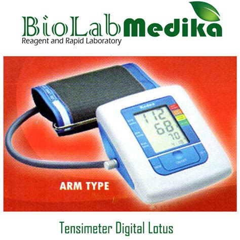 tensimeter digital lotus arm type biolab medika