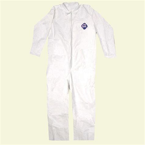 home depot paint jumpsuit tyvek no elastic disposable coverall xl 14123 the home