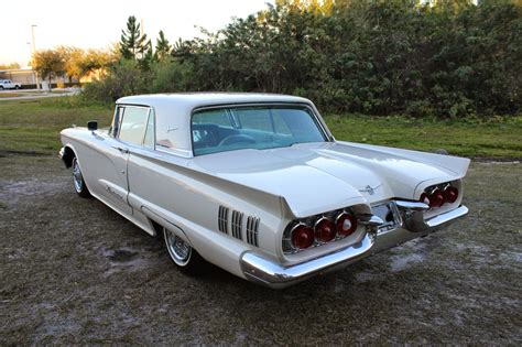 vintage cars 1960s all american classic cars 1960 ford thunderbird 2 door