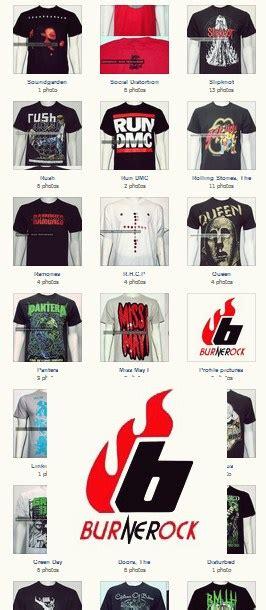 Kaos Pria Band Sepultura burnerocks baju band berlisensi di bandung infobdg