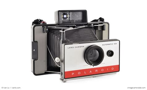 polaroid land polaroid land model 104 vintage lab
