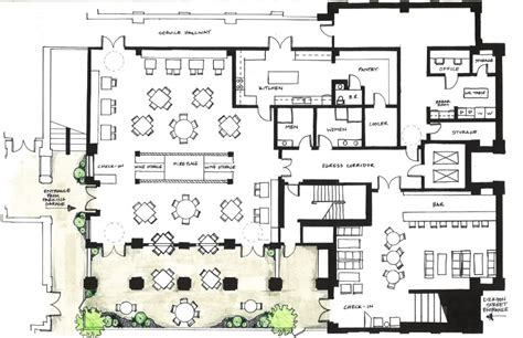 restuarant floor plan charming designing a restaurant kitchen layout and